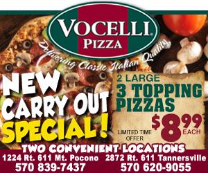 Vocelli Pizza | Tannersville, PA