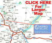 Woehrles Bait Map Small