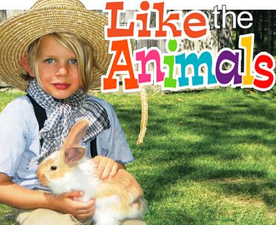 Farm Animal Frolic LG
