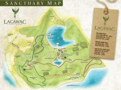 Lacawac Map