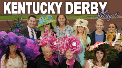 Hats, Harnesses & Derby Horses! Kentucky Derby Day May 6