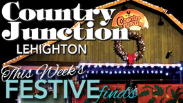 Country Junction continues Santa's Winterfest FUNction going on NOW