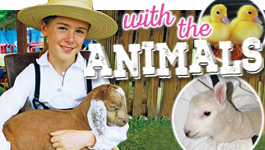 NEXT WEEK Farm Animal Frolic returns to Quiet Valley May 19 & 20 plus 26 & 27