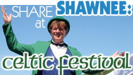 THIS WEEKEND…Celebrate at Shawnee Celtic Festival May 26 & 27