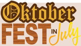 THIS WEEK…Head over to Shawnee for Oktoberfest July 14 & 15