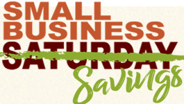 THIS WEEK…Start Planning Small Business Saturday Shopping Hotspots!